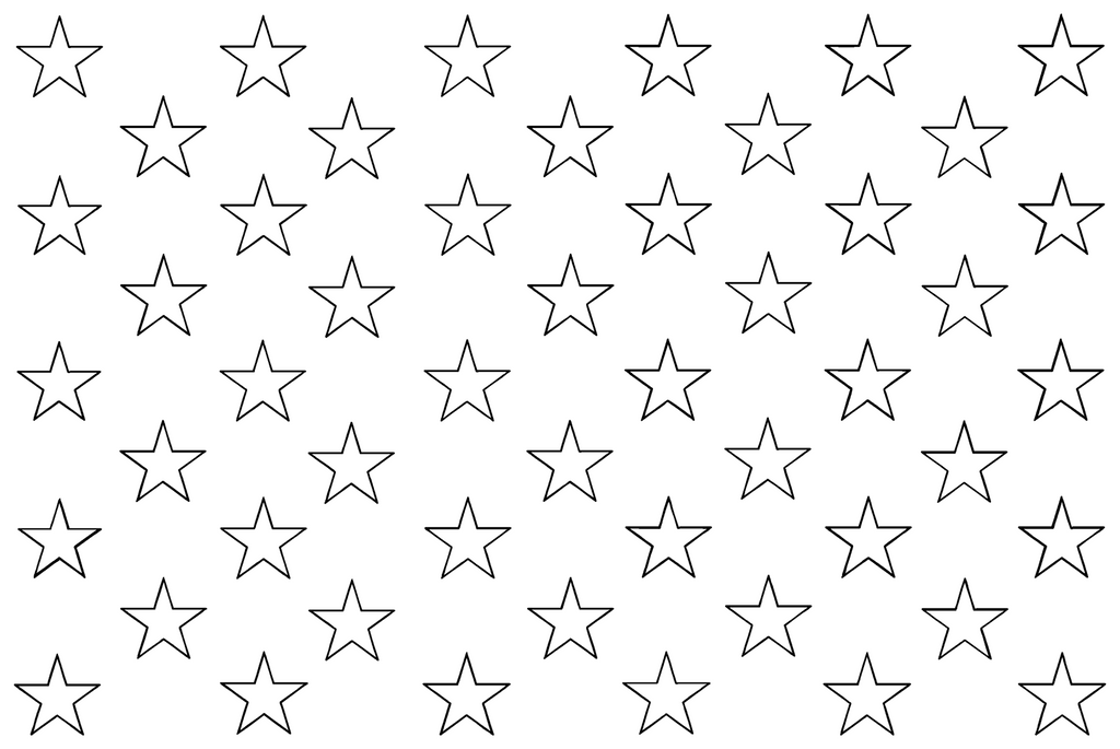 Stars for American Flag quilting pattern