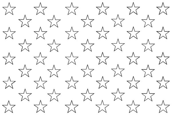 picture regarding American Flag Star Stencil Printable known as Celebs for American Flag