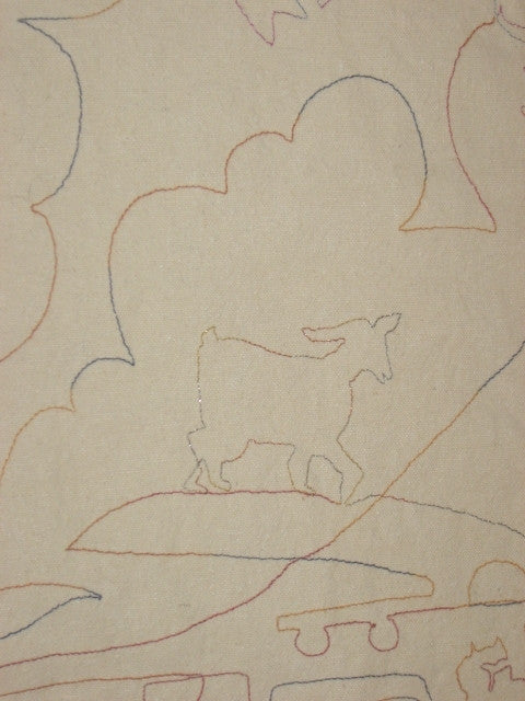 angora goat quilting pattern