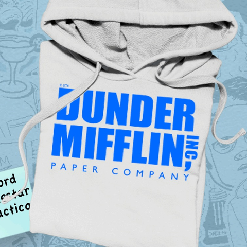 hoodies and sweatshirts themed to The Office