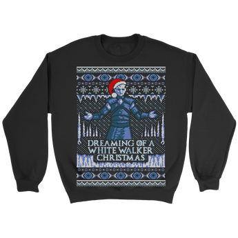 Dreaming Of A White...Walker Xmas - Unisex Holiday Sweater