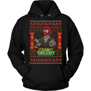 I am the gift holiday hoodie