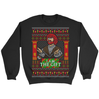 I am the gift holiday sweater