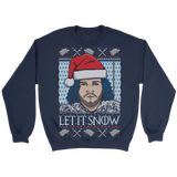 Let It Snow - Unisex Holiday Sweater