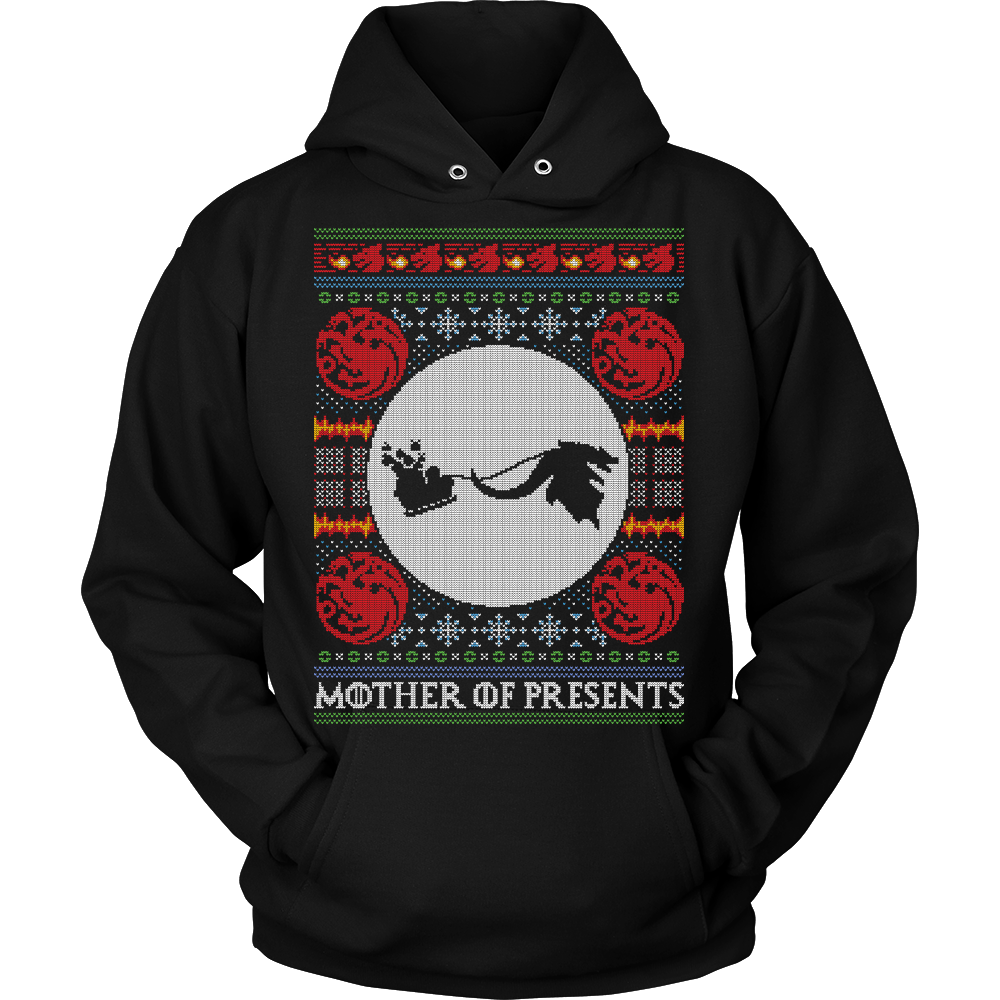 Mother of presents holiday hoodie