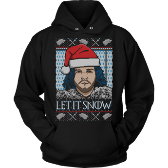 Let It Snow - Unisex Holiday Hoodie