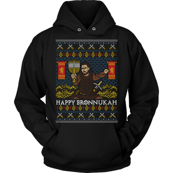 Happy Bronnukah - Unisex Holiday Hoodie