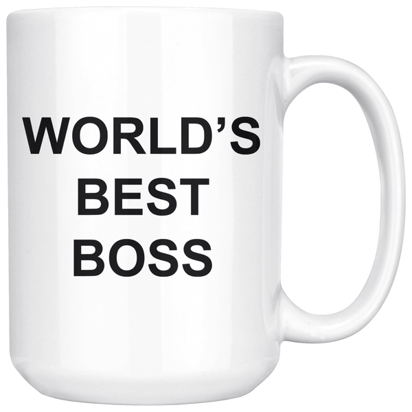 World's Best Boss - Coffee Mug-teelaunch-Moneyline
