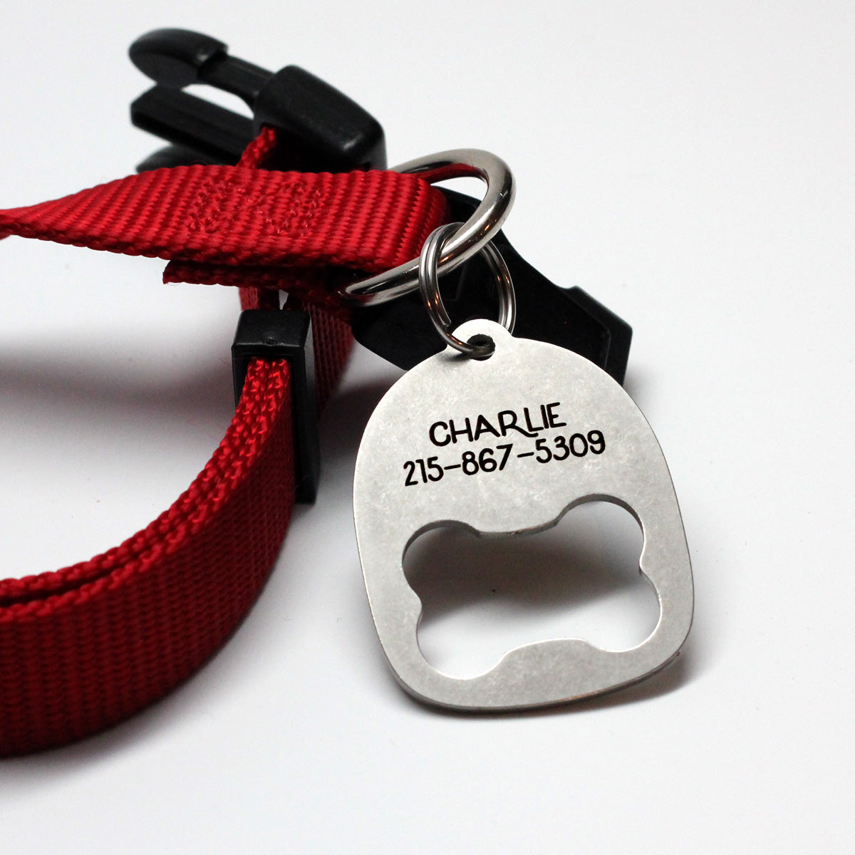Bottle Opener ID Tag