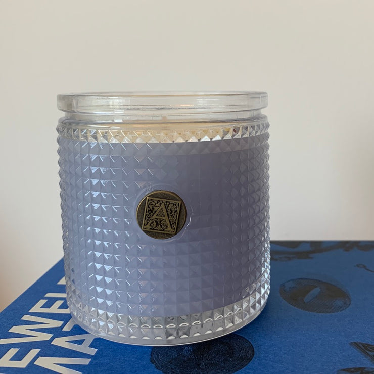Aromatique Textured Glass Candle