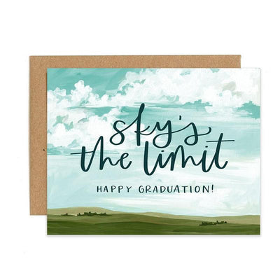 "Graduation Card ""Sky's The Limit"""