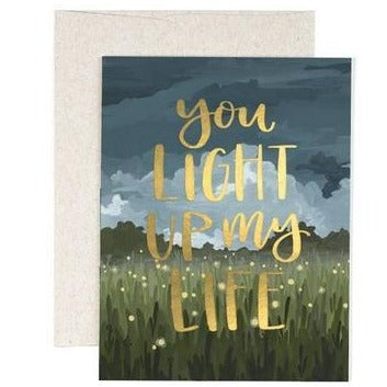 "Love Card ""Light Up My Life"""