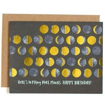 "Birthday Card ""Many Moons"""