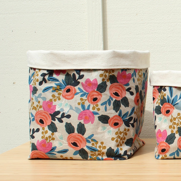 Canvas Storage Baskets Large
