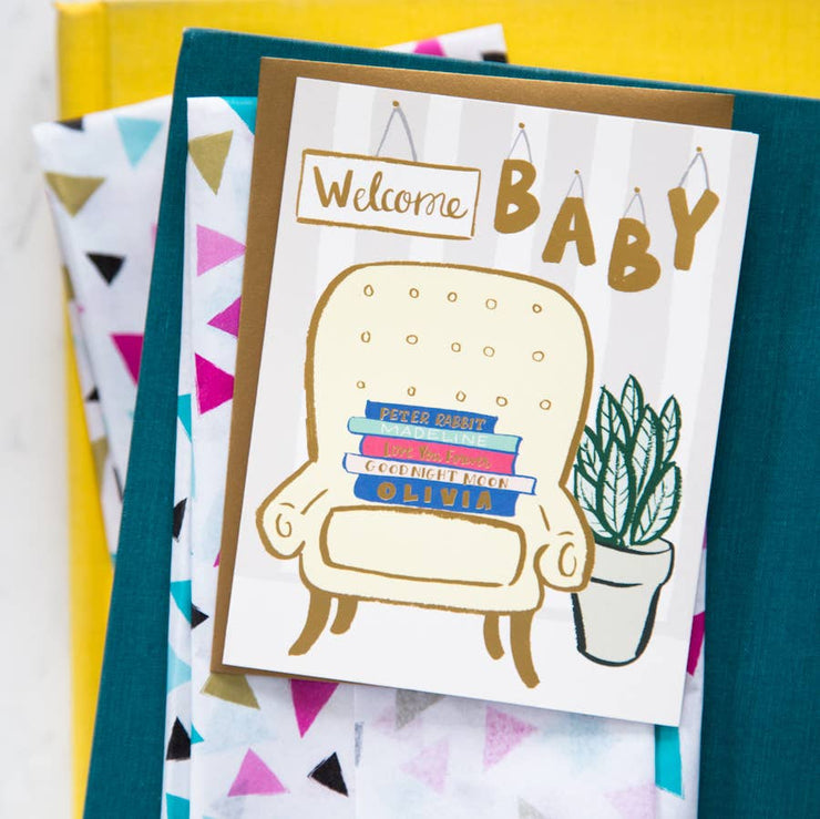"Baby Card ""Baby Books"""