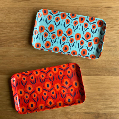 Melamine Poppy Trays