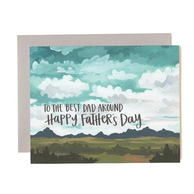 "Father's Day Card ""Best Dad Around"""