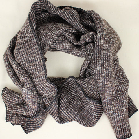 2017 Ribbed Knit Scarf