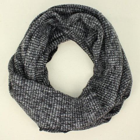 Winter Ribbed Knit Infinity