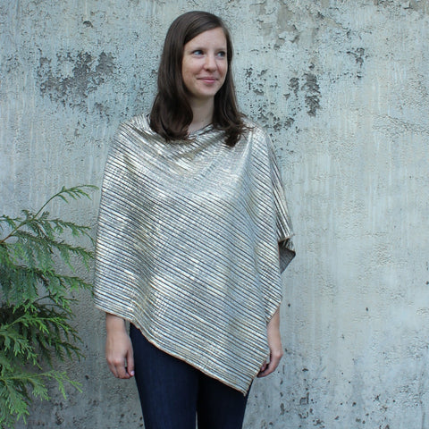 Reflection Knit Ponchos