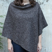 Sale Winter Ribbed Knit Poncho