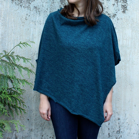 Autumn Knit Poncho