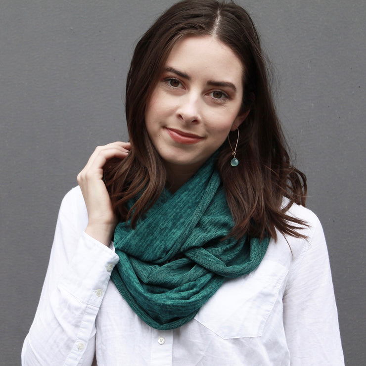 Heather Jersey Infinity Scarf