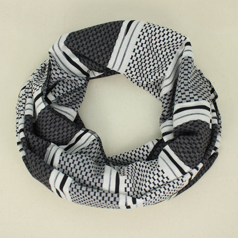 Black & White Infinity Scarves
