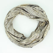 Reflection Knit Infinity Scarf