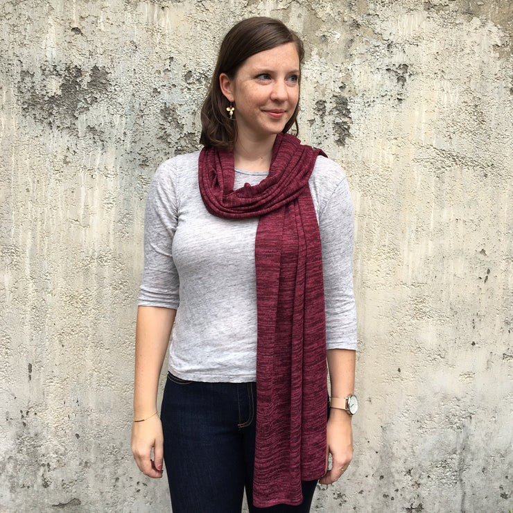 Heather Jersey Scarf