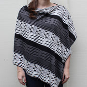 Black & White Poncho