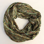 Multi Colored Knit Infinity Scarf