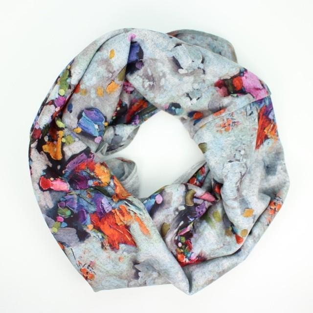 Heather Print Infinity Scarf