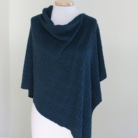 Sale Winter Cable Knit Poncho
