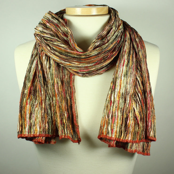 Multi Colored Knit Scarf