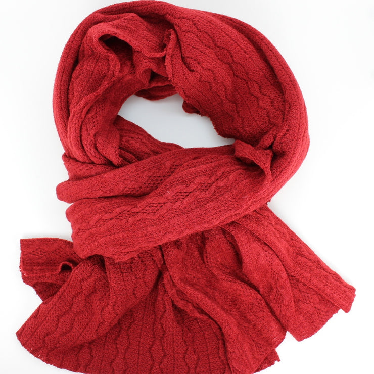 Sale Winter Cable Knit Scarf