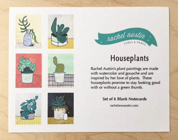 "Boxed Blank Cards ""Houseplants"""
