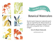 "Boxed Blank Cards ""Watercolor"""