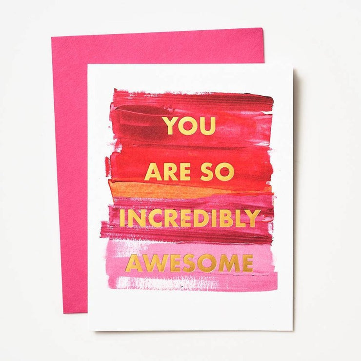 "Everyday Card ""Incredibly Awesome"""