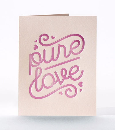 "Valentine Card ""Pure Love"""