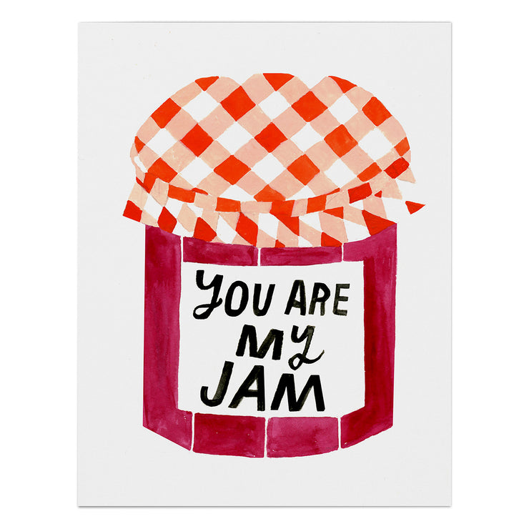 "Love Card ""You Are My Jam"""