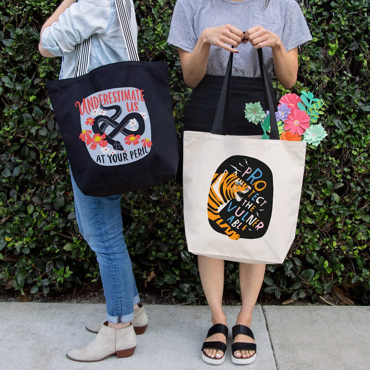 Canvas Totes by Lisa Congdon