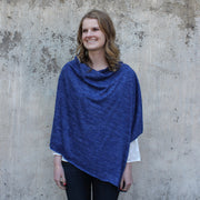 Heather Jersey Poncho