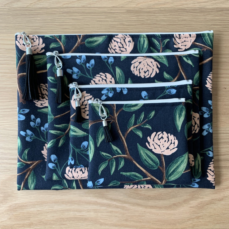 Canvas Pouch Set