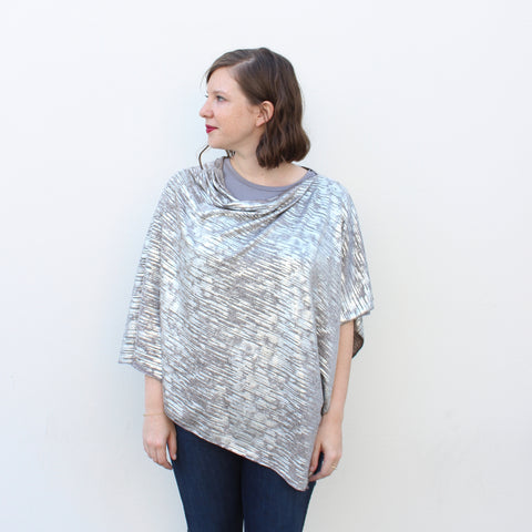 Reflection Knit Poncho