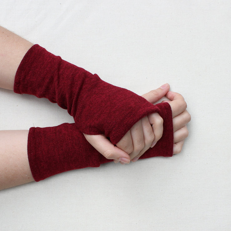 Autumn Knit Fingerless Gloves