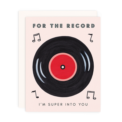 "Love Card ""For the Record"""