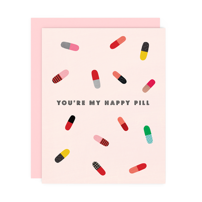 "Friendship Card ""Happy Pill"""