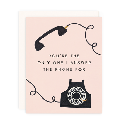 "Friendship Card ""Phone"""