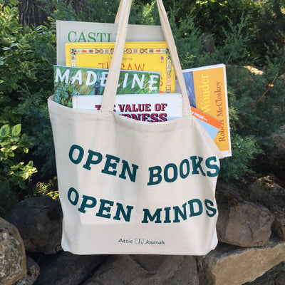 Open Books Open Minds Tote